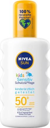 Nivea Sun Kids Spray Sensitive Spf 50+