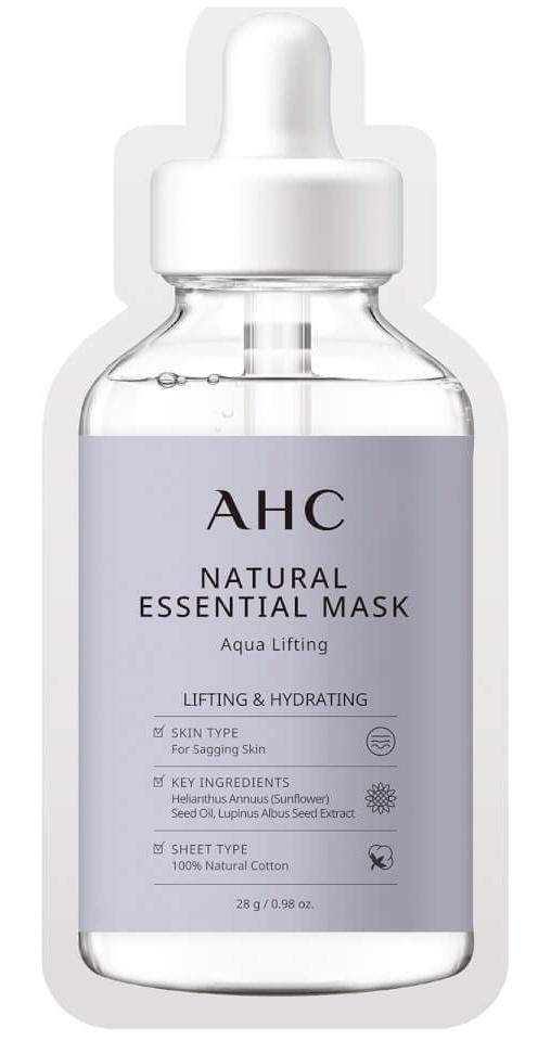 AHC Natural Essential Face Mask Aqua Lifting