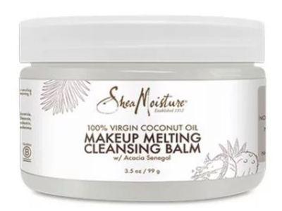 Shea Moisture 100% Virgin Coconut Oil Makeup Melting Cleansing Balm