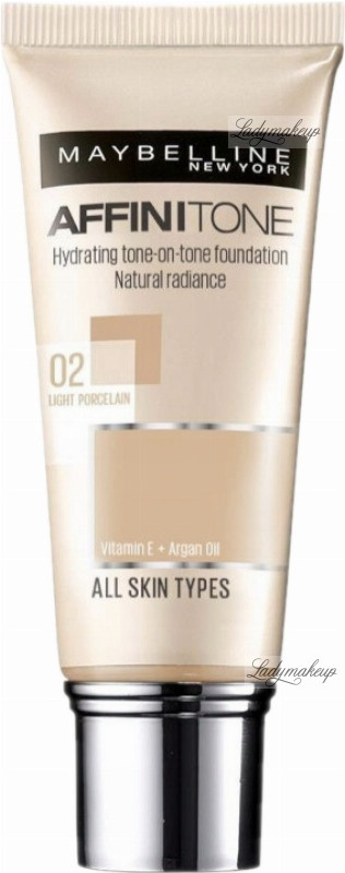 Maybelline New York Affinitone Hydrating Tone-On-Tone Foundation