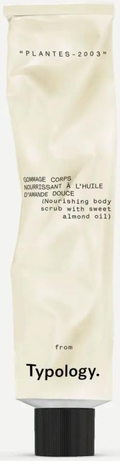 Typology Nourishing Body Scrub With Sweet Almond Oil