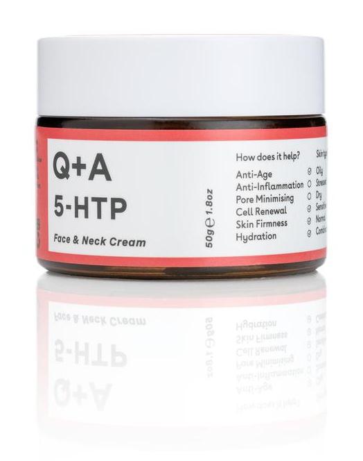 Q+A 5-Htp Face And Neck Cream