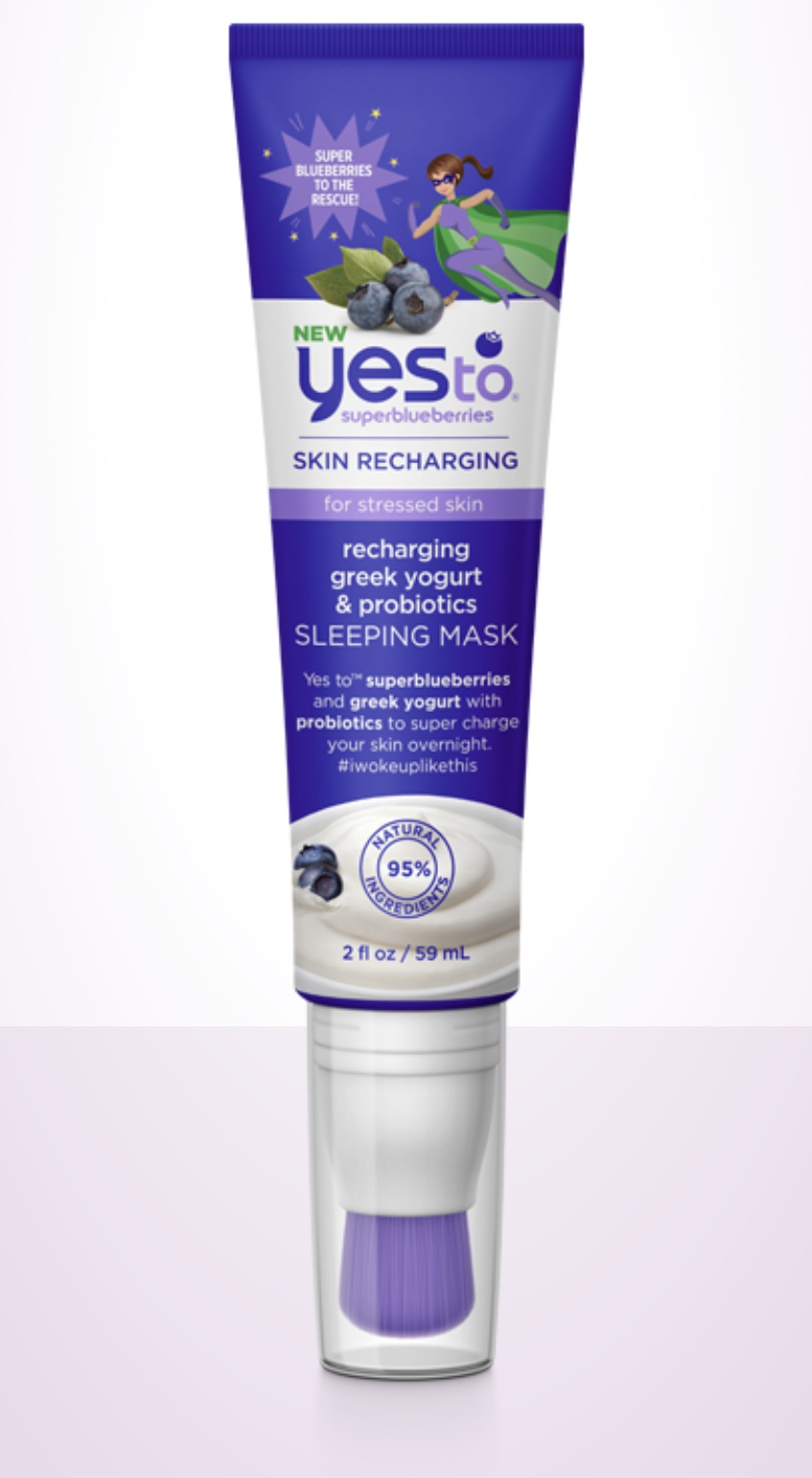 Yes To Recharging Greek Yogurt & Probiotics Sleeping Mask