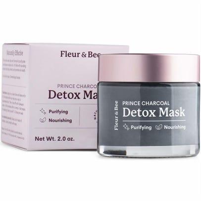 Fleur & Bee Natural Detox Mask Prince Charcoal