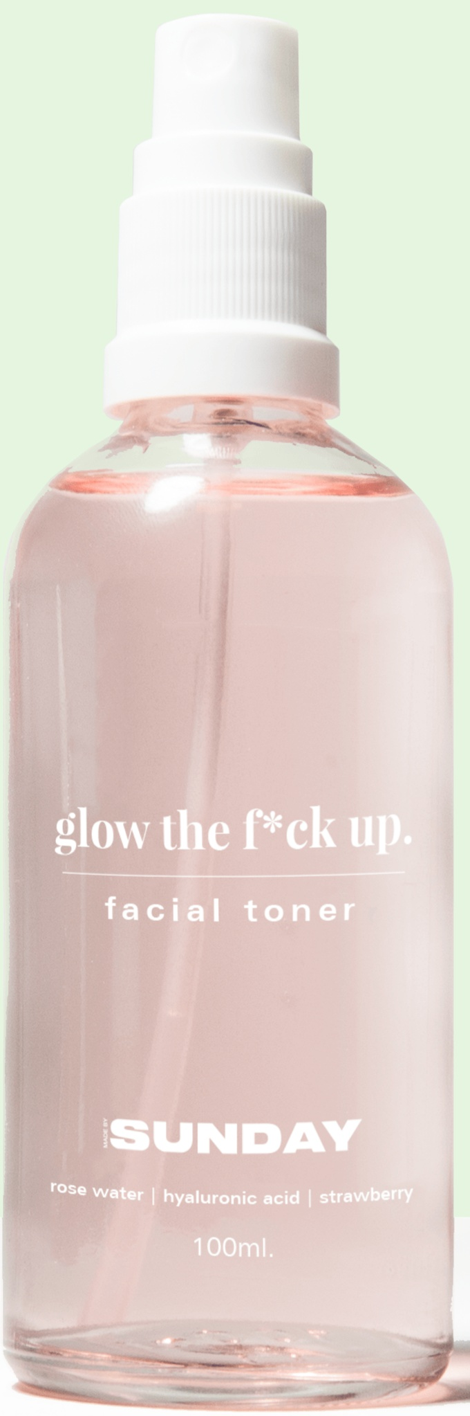 Made by Sunday Glow The F*ck Up Toner
