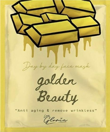 LEA  GLORIA Golden Beauty Face Mask