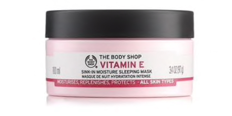 The Body Shop Vitamin E Sink In Moisture Sleeping Mask