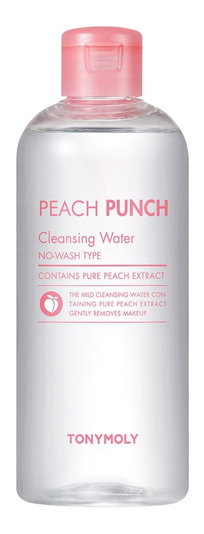 TonyMoly Peach Punch Cleansing Water