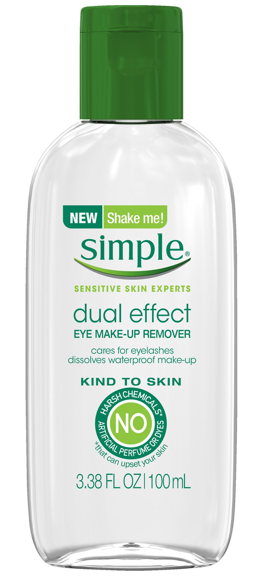 Simple Kind To Skin Dual Effect Eye Makeup Remover
