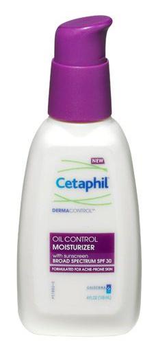 Cetaphil Dermacontrol Oil Free Facial Moisturising Lotion Spf 25