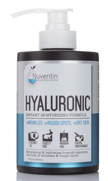 Nuventin Hyaluronic Acid Cream For Face & Body W/Coconut Oil & Shea Butter
