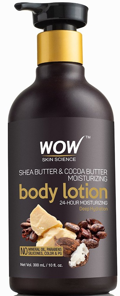 WOW skin science Shea & Cocoa Butter Moisturizing Body Lotion