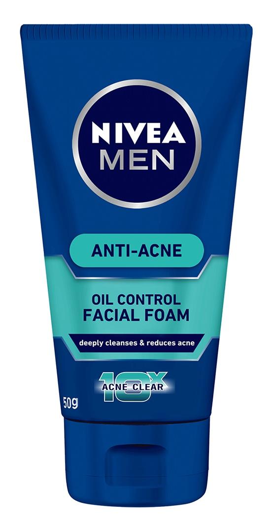 Nivea Men Anti Acne Facial Foam