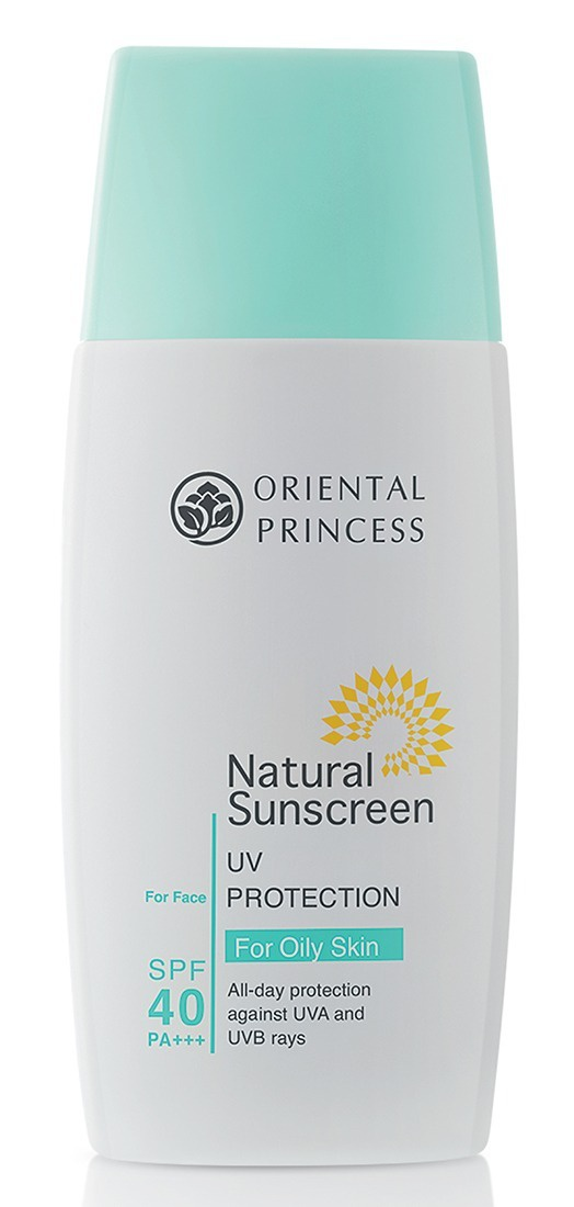 Oriental Princess Natural Sunscreen Uv Protection For Oily Skin For Face Spf 40