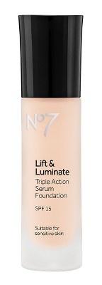 Boots No7 Lift & Luminate Triple Action Serum Foundation
