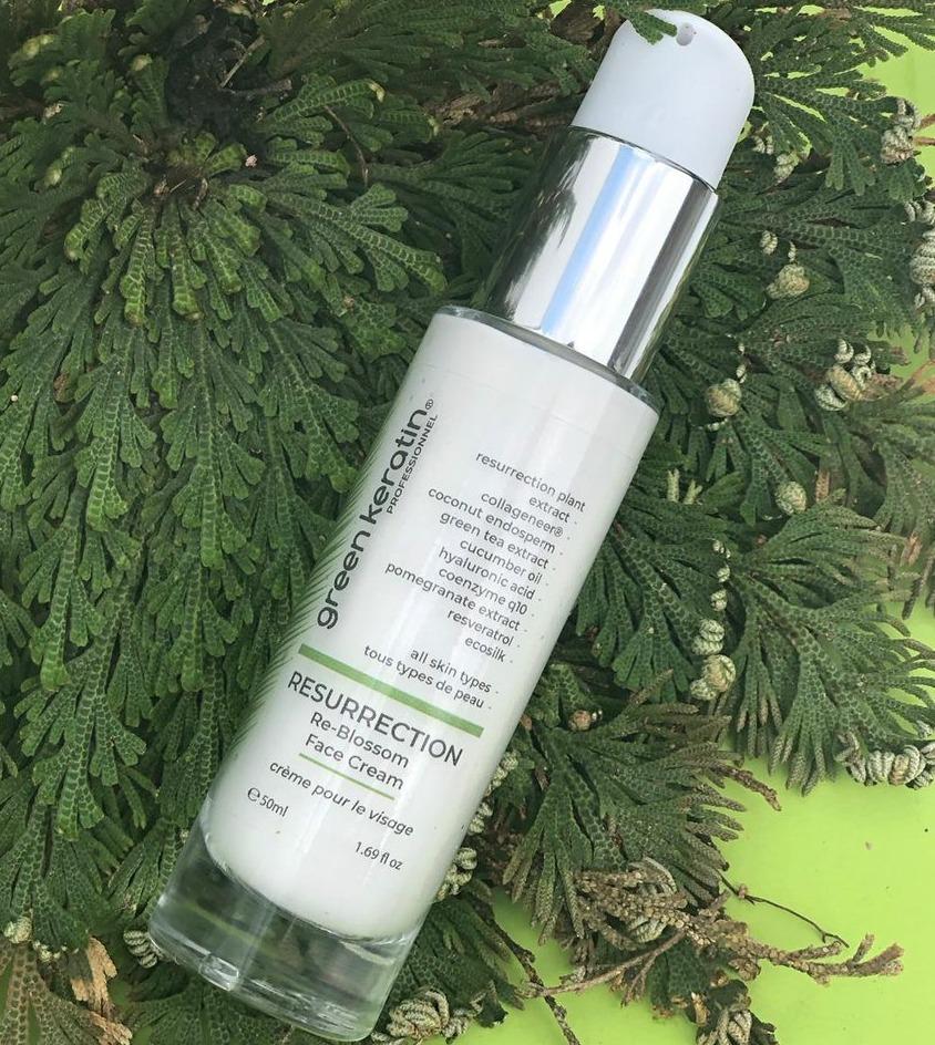 Green Keratin Resurrection Re-blossom Face Cream