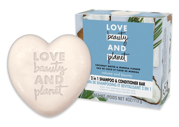 Love beauty and planet 2 In 1 Shampoo And Conditioner Bar Coconut Water And Mimosa Flower