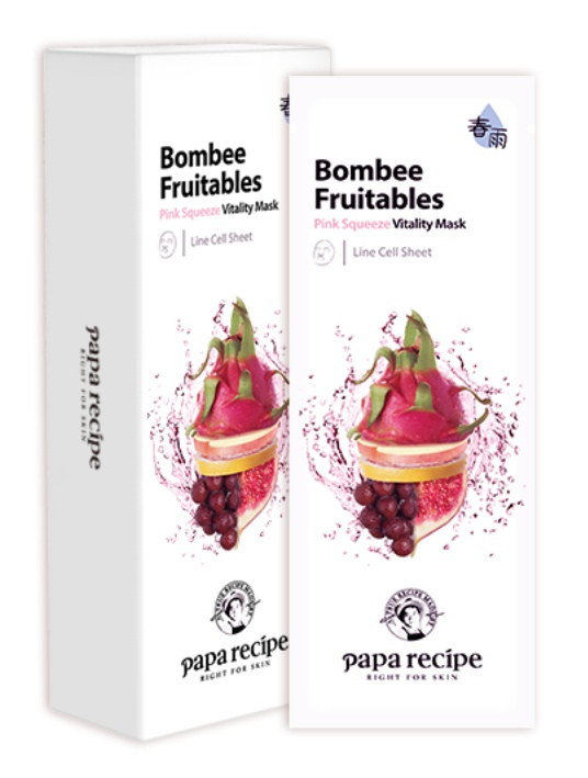 PAPA RECIPE Bombee Fruitables Pink Squeeze Vitality Mask
