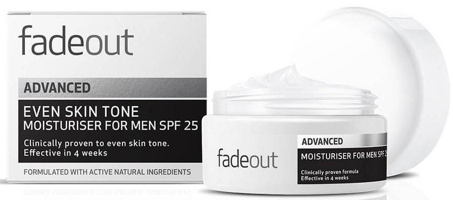 Fadeout Fade Out Advanced Even Skin Tone Moisturiser For Men SPF 25