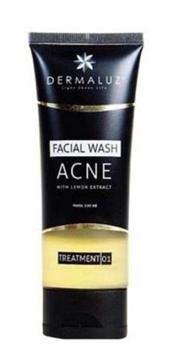 Dermaluz Facial Wash Acne With Lemon Extract