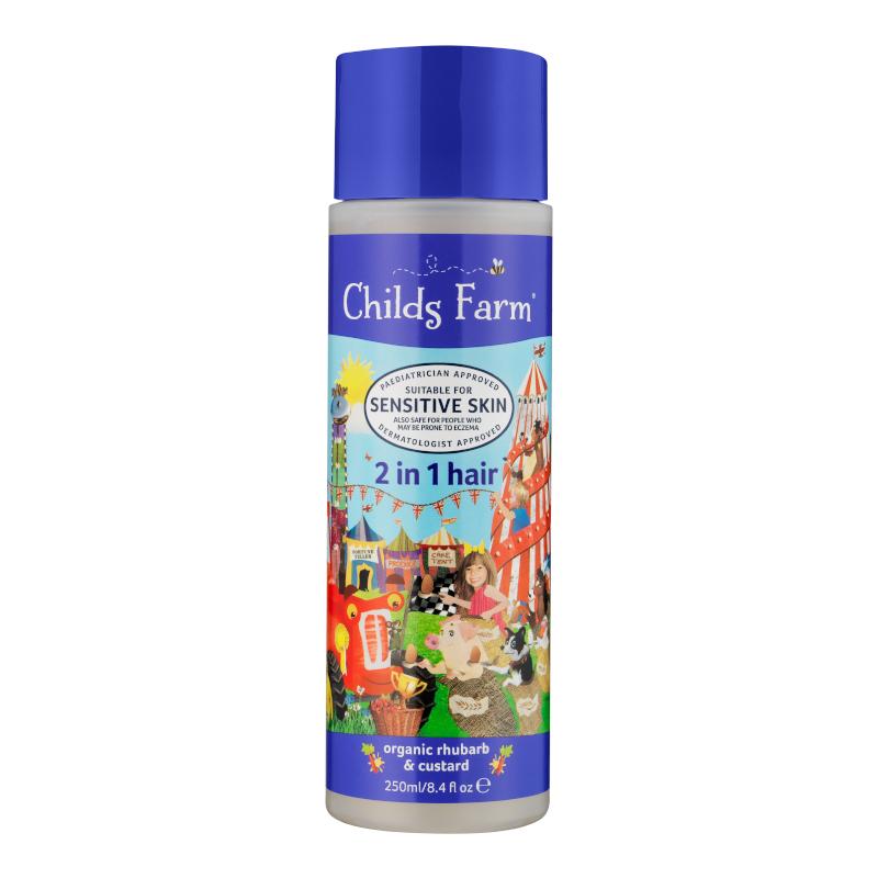 Childs Farm 2 In 1 Shampoo & Conditioner Rhubarb & Custard