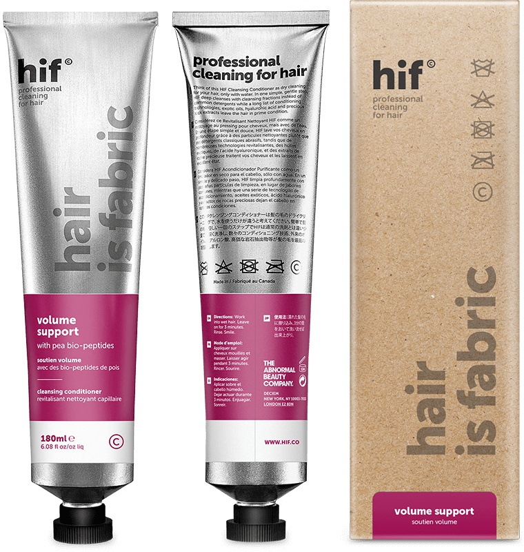 hif (Hair is Fabric) Volume Support