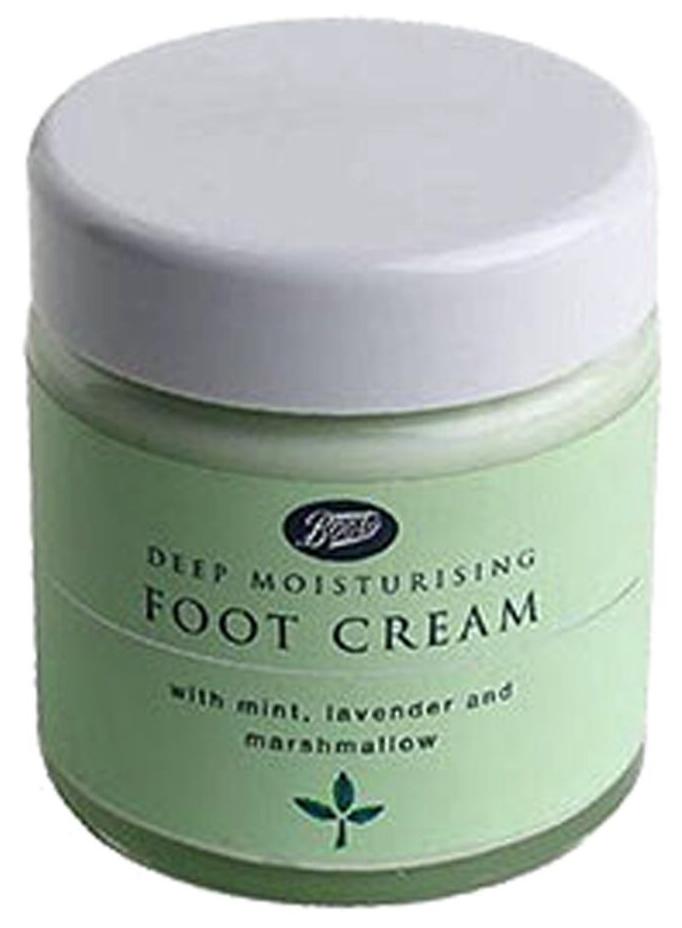 Boots Deep Moisturising Foot Cream