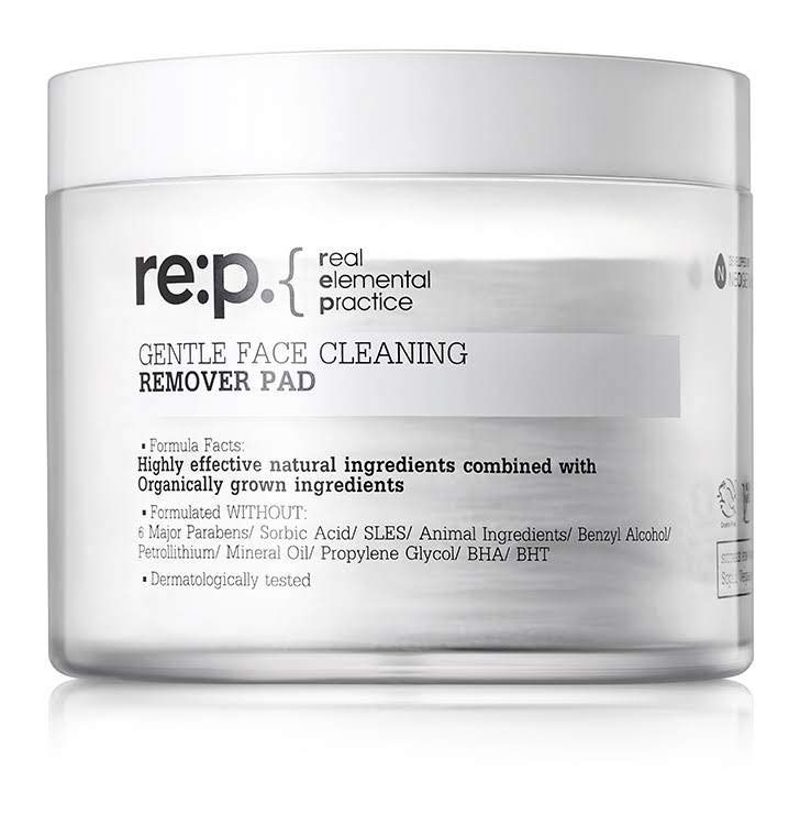 RE:P GENTLE FACE CLEANING REMOVER PAD
