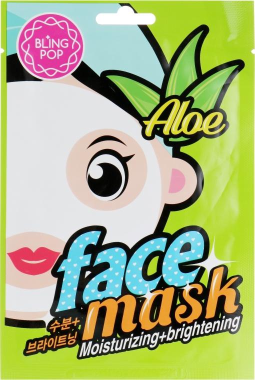 Bling Pop Aloe Moisturizing & Brightening Mask