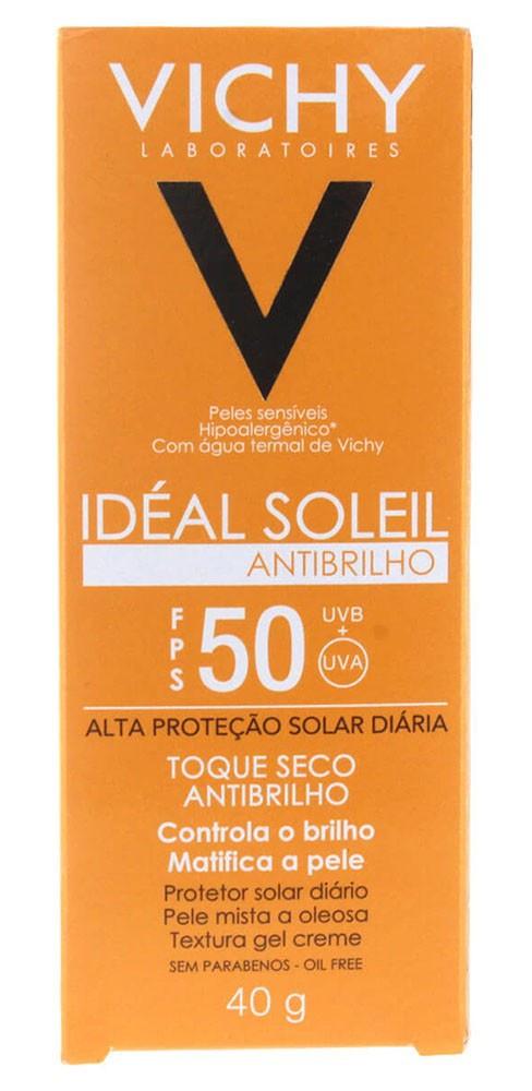 Vichy Idéal Soleil FPS 50 Antibrilho