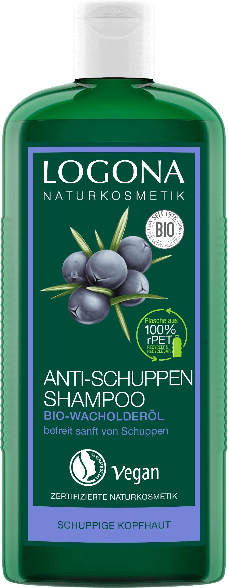 Logona Juniper Oil Anti-dandruff Shampoo