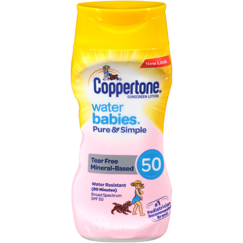 Coppertone Waterbabies Pure & Simple Mineral Based Lotion
