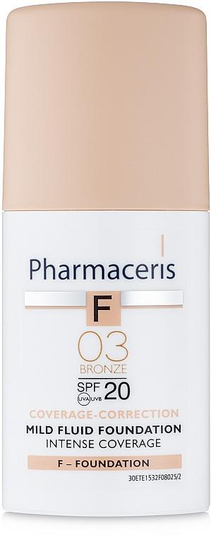 Pharmaceris F Intensive Coverage SPF20