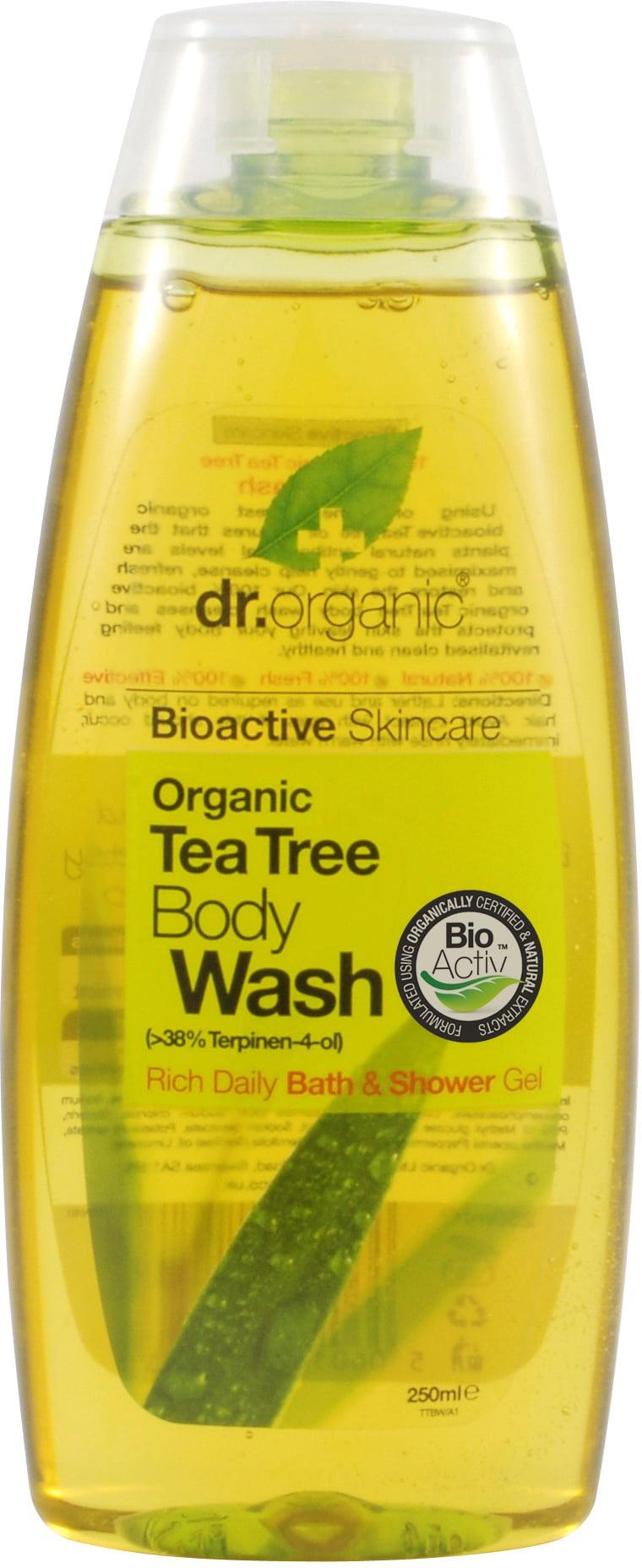 Dr Organic Tea Tree Body Wash