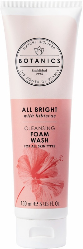 Botanics All Bright Cleansing Foam Wash