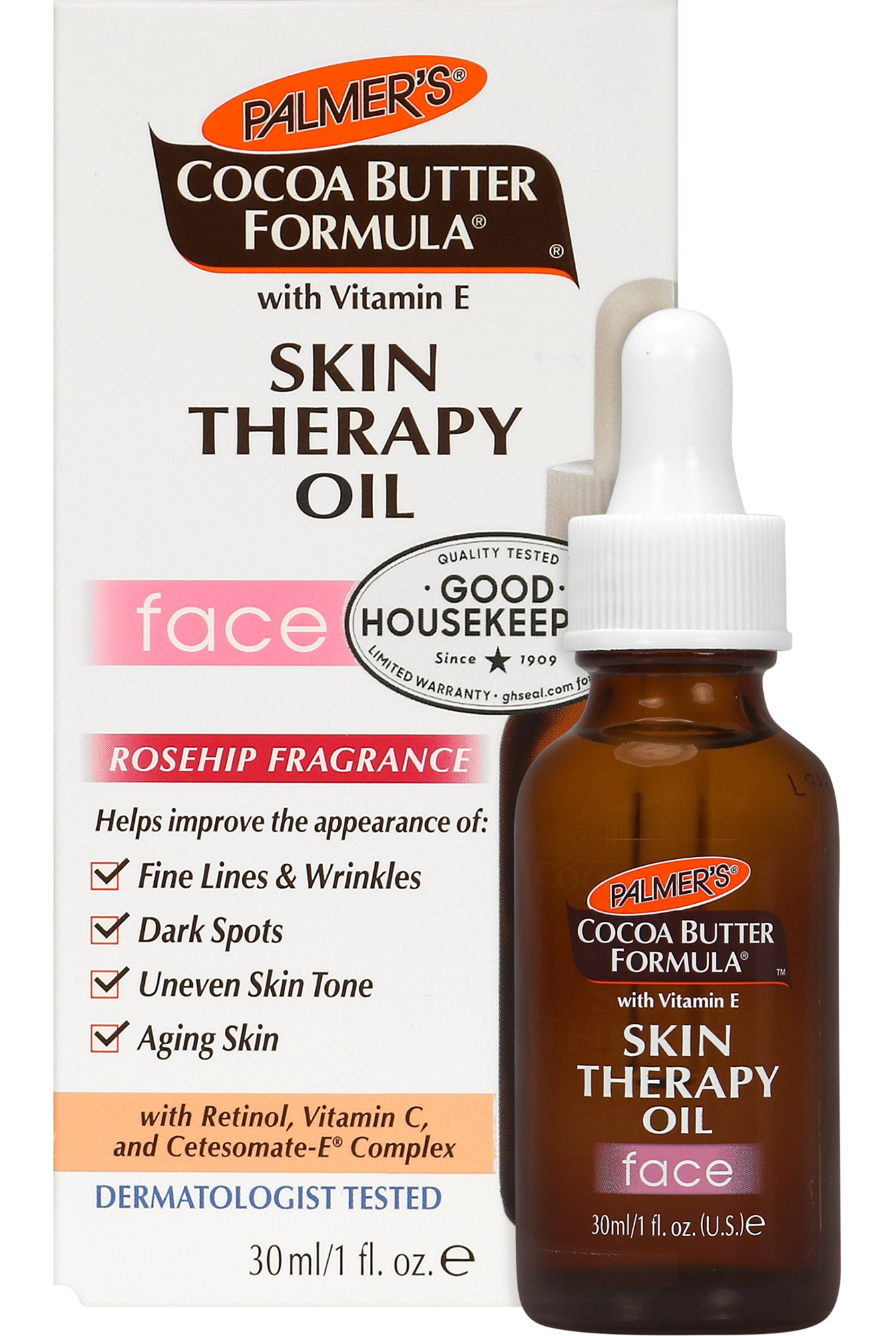 Palmer's Cocoa Butter Moisturizing Skin Therapy Oil For Face With Vitamin E