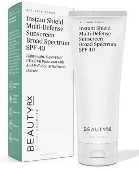 BeautyRX Instant Shield Multi-defense Broad Spectrum Sunscreen SPF 40