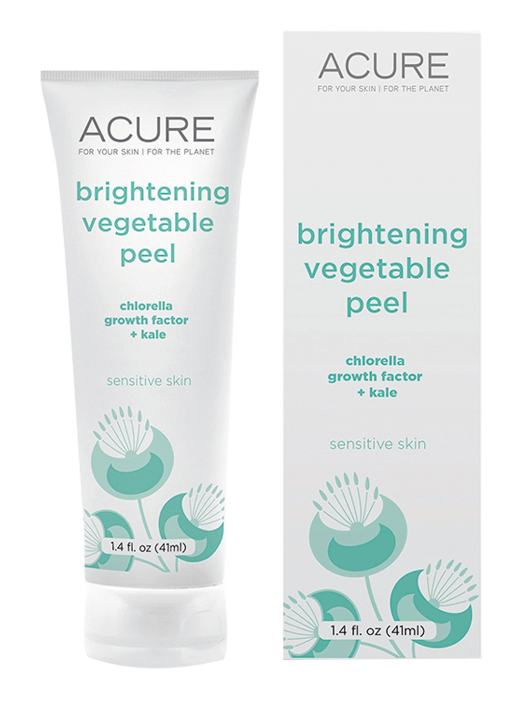 Acure Brightening Vegetable Peel (Chlorella And Kale)