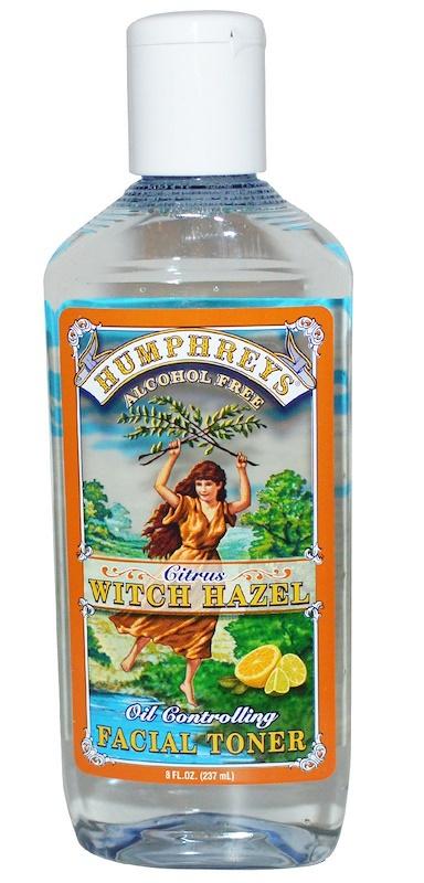 Humphrey's Citrus Witch Hazel Oil Controlling Facial Toner