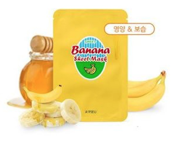 A'pieu Banana & Honey Sheet Mask