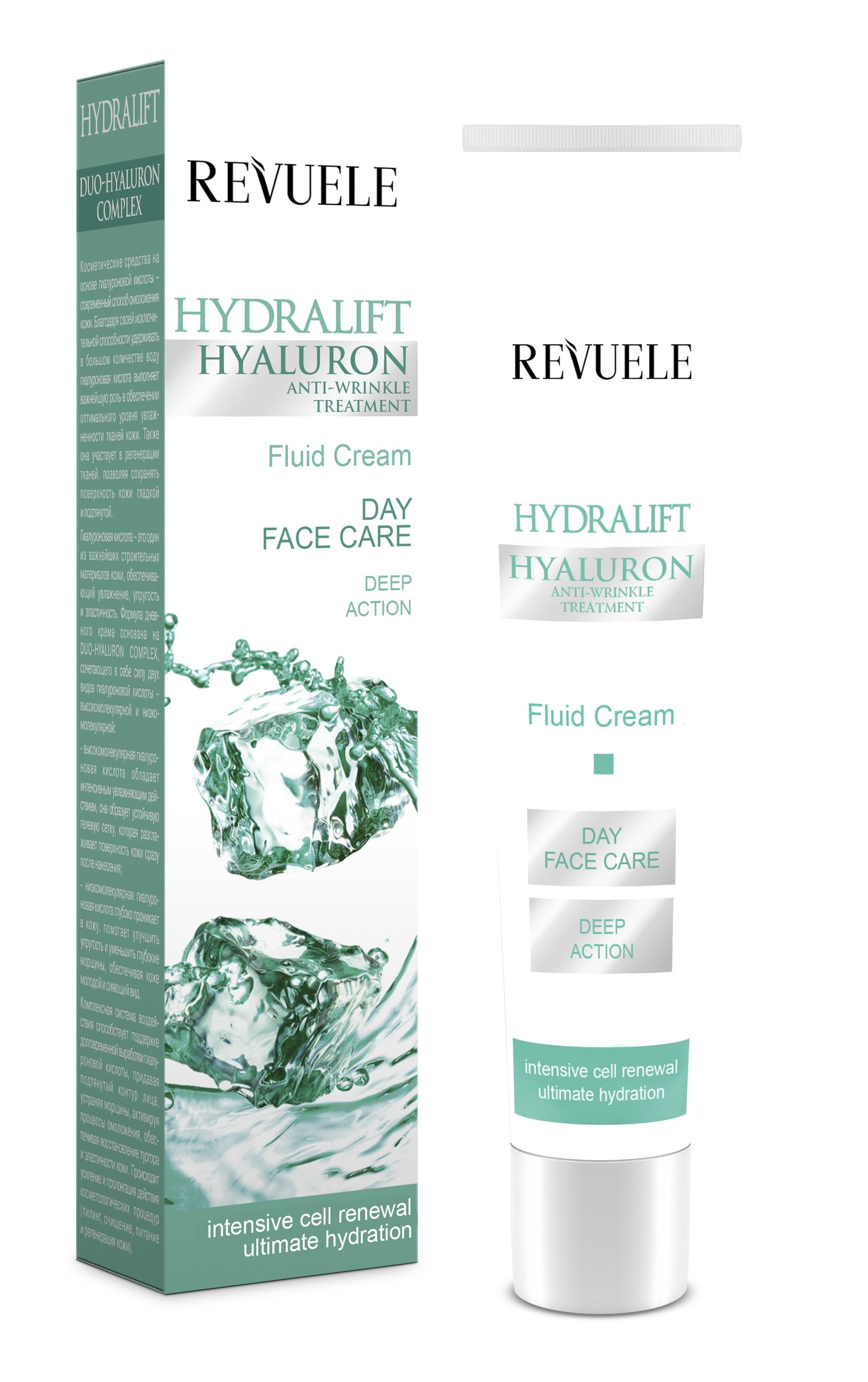 Revuele Hydralift Hyaluron Day Cream Fluid