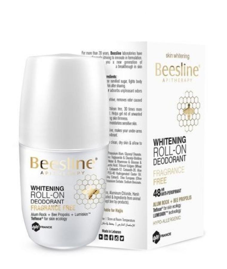 Beesline Whitening Roll-On Deodorant Fragrance-Free