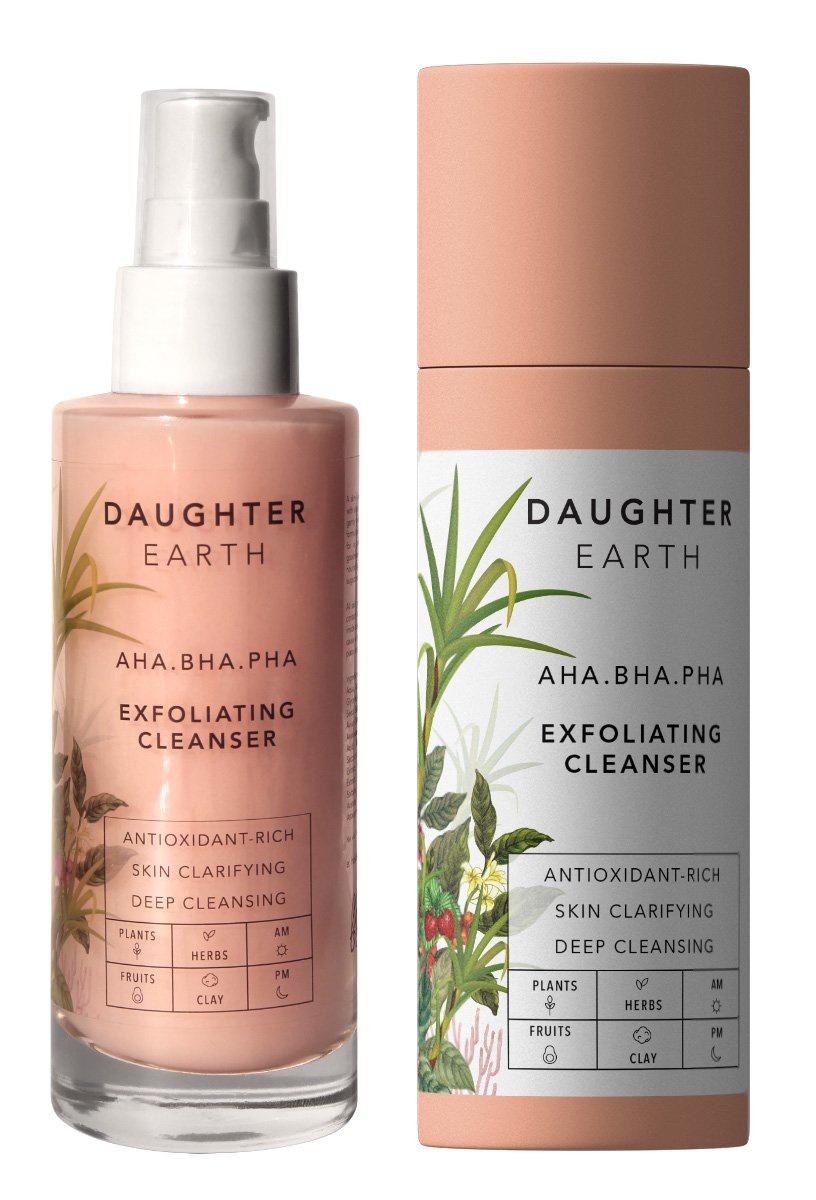 Daughter Earth AHA BHA PHA Exfoliating Cleanser
