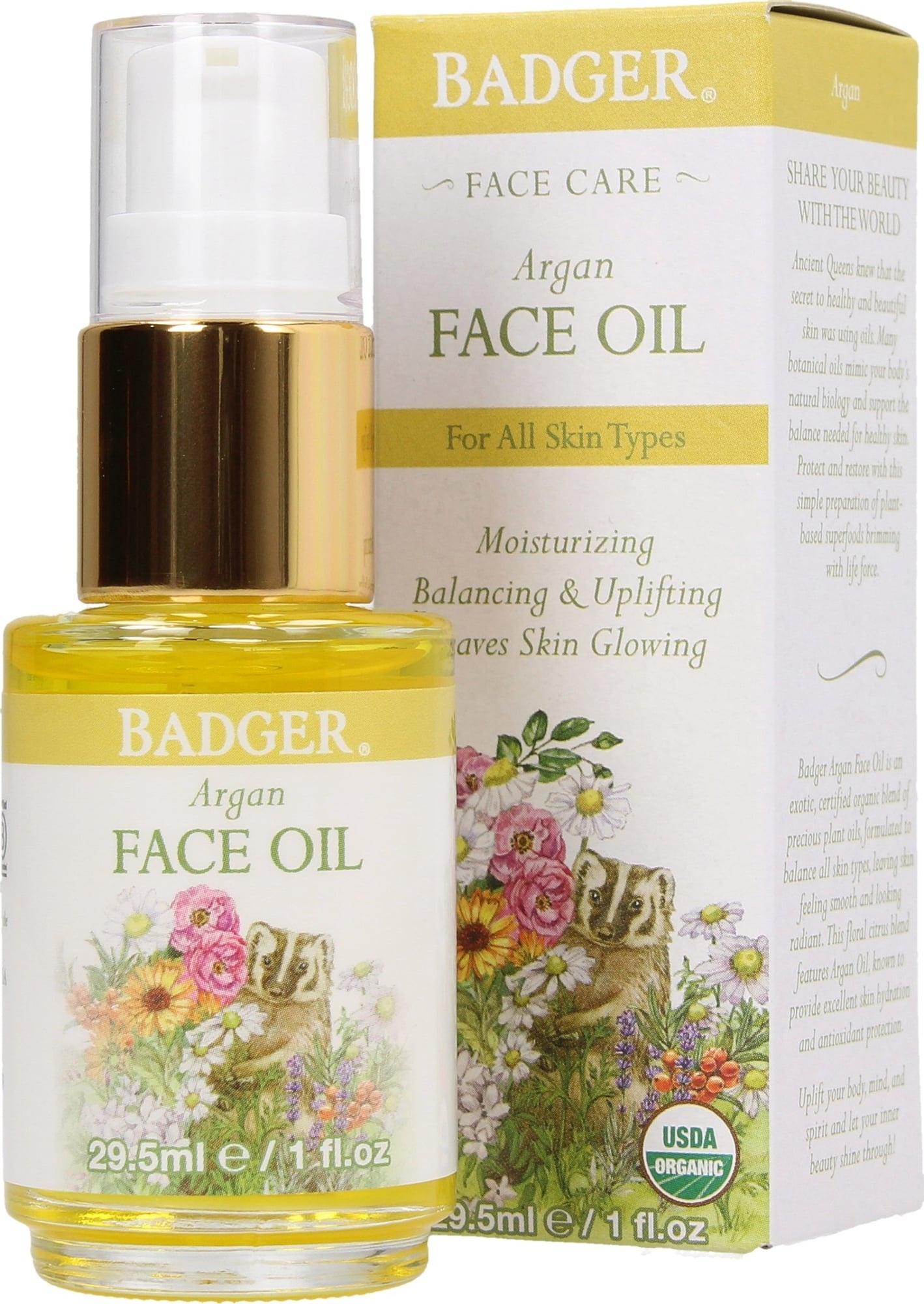 Badger Argan Face Oil For All Skin Types