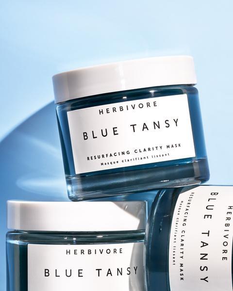 Herbivore Blue Tansy Invisible Pore Resurfacing Clarity Mask