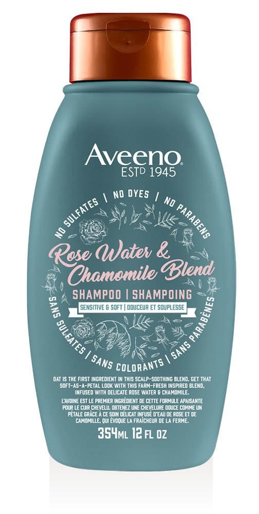 Aveeno Rose Water and Chamomile Sensitive and Soft Shampoo