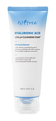 Isntree Hyaluronic Acid Low-Ph Cleansing Foam