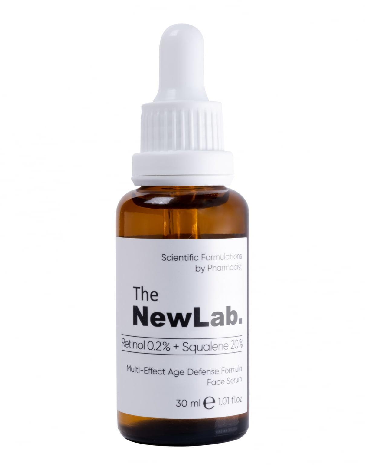 the NewLab. Multi-Effect Age Defense Formula Face Serum