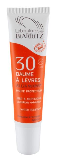 Biarritz Certified Organic Spf30 Ocean & Mountain Lip Balm