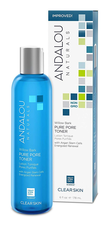 Andalou Naturals Clear Skin Willow Bark Pure Pore Toner